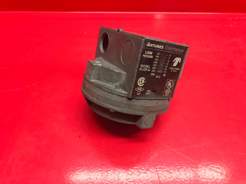 """Antunes RLGP-A Low Gas Pressure Switch, 2-14"""" WC"""