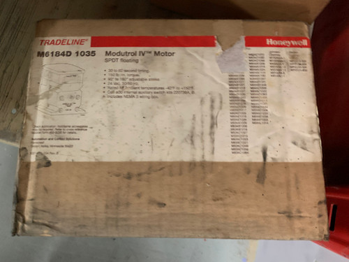 Honeywell M6184D 1035 24V Non-Spring Return Foot Mounted Actuator