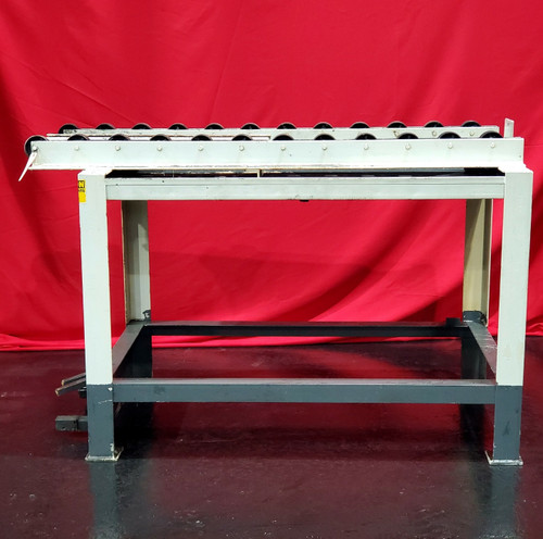 "Surface Combustion 36x48"" Rail Storage Table (S/N BC-42074-1)"