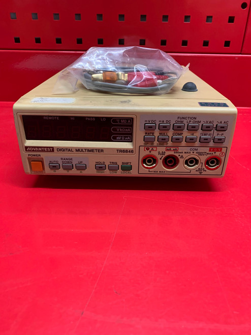 ADVANTEST TR6846 Digital Multimeter