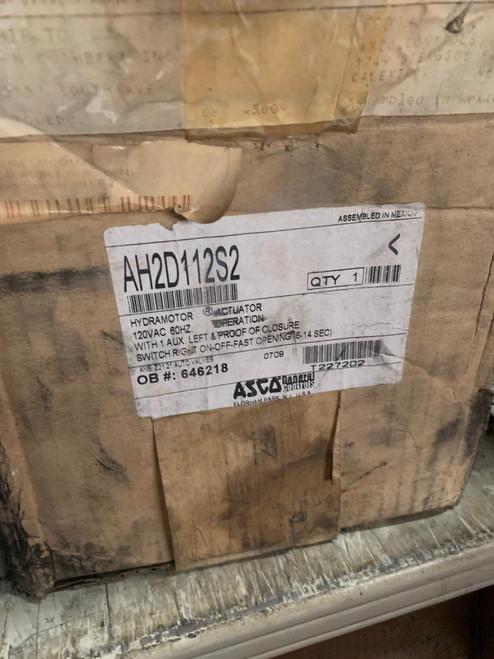 ASCO AH2D112S2 Hydramotor Actuator