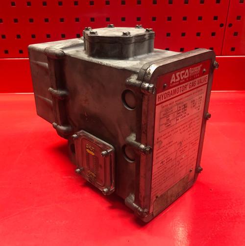 Asco AHD112A Hydramotor Gas Valve