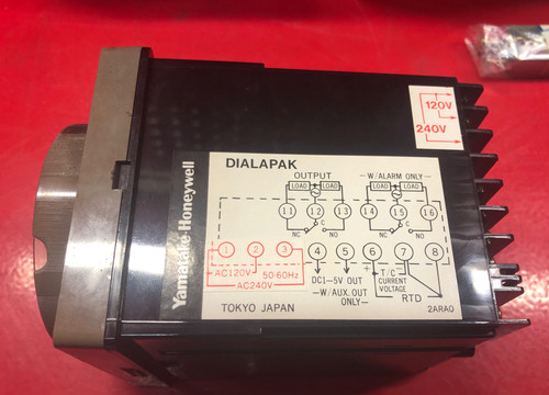 Yamatake Honeywell R7850CJ0400Q Temperature Controller