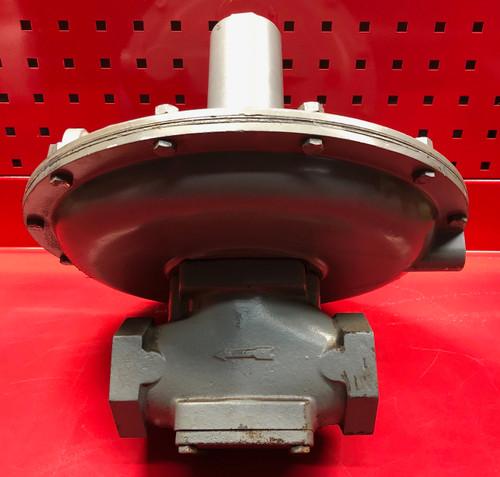 "Equimeter 122-12 Gas Regulator Orange Spring ( 12"" to 28"" w.c. ) Used"