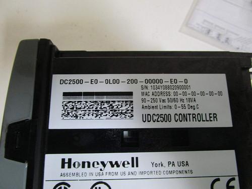 Honeywell UDC2500 Hi Limit Controller
