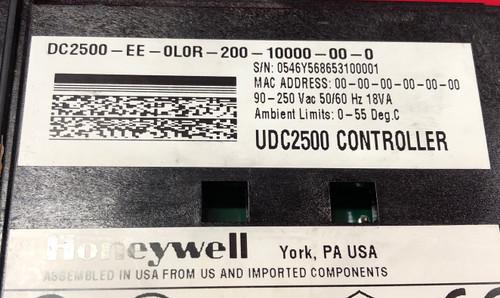 Honeywell UDC2500 Hi Limit Controller (DC2500-EE-0L0R-200-10000)