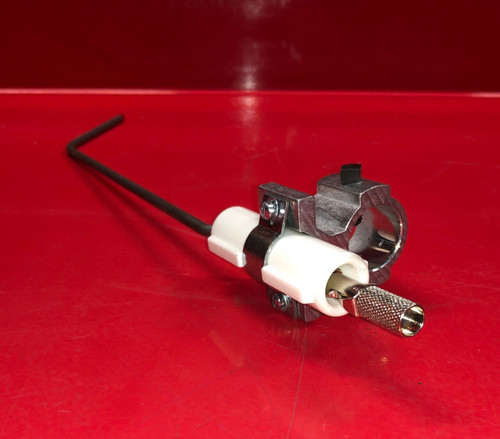 "Honeywell C7005A 1037 Pilot Burner Assembly W/Kanthal Flame Rod 6"" Support Pipe 0.52"" Office"