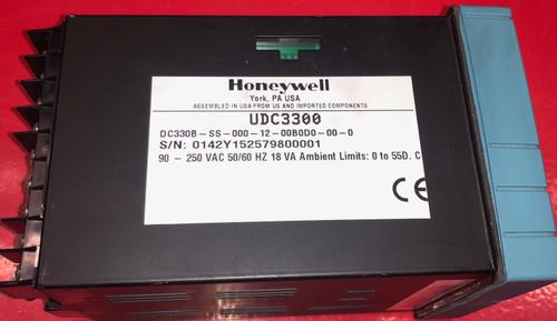 Honeywell UDC3300 Controller (DC330B-SS-000-12-00B0D0-00-0)