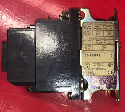 Allen Bradley 700-N800A1 Industrial Control Relay