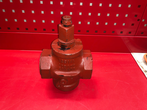 "Homestead 611 Lubricated Plug Valve - 2"" FPT"