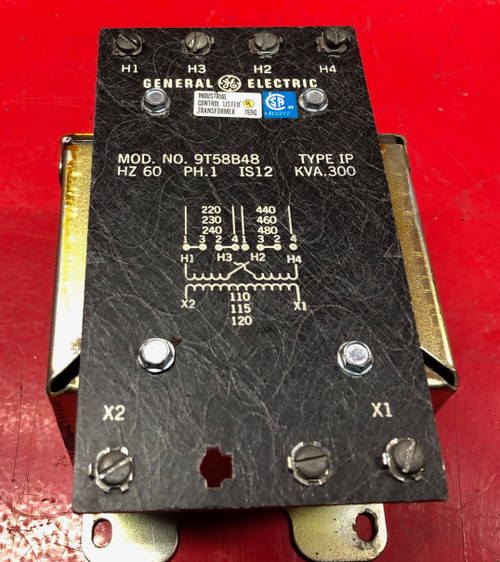 General Electric 9T58B48 Industrial Control Transformer