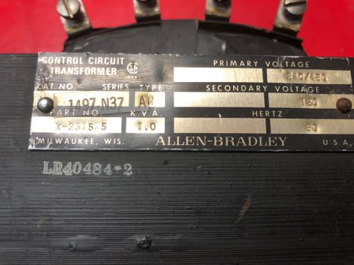 Allen Bradley 1497-N37 Control Circuit Transformer X-231515