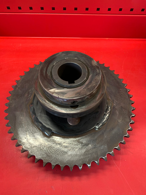 Surface Combustion Slip Clutch w/ 54 T. Sprocket - Part#: 17D125 - Surplus