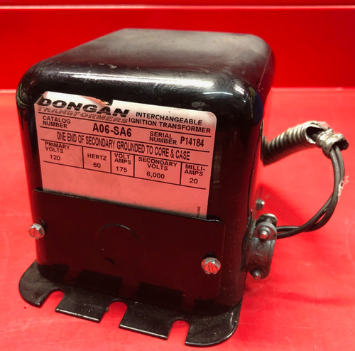 Dongan A06-SA6 Ignition Transformer 120v 60hz (Used)