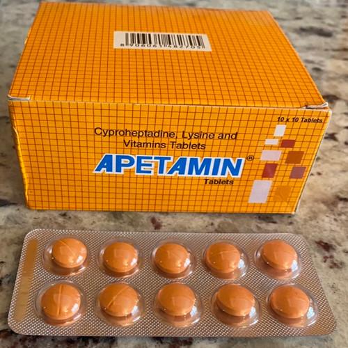 Orange Apetamin Pills