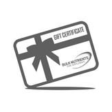 Bulk Nutrients Gift Certificate