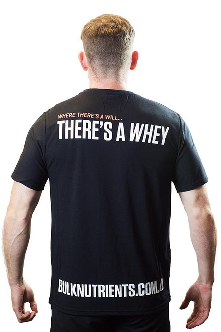 e7ddc765 Bulk Nutrients Limited Edition T-Shirt - Where there's a will... there's