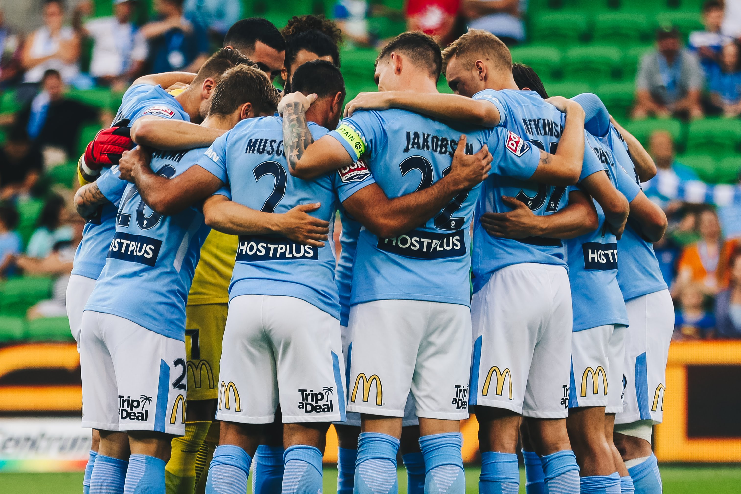 Bulk Nutrients Are The Official Protein Partner Of Melbourne City FC