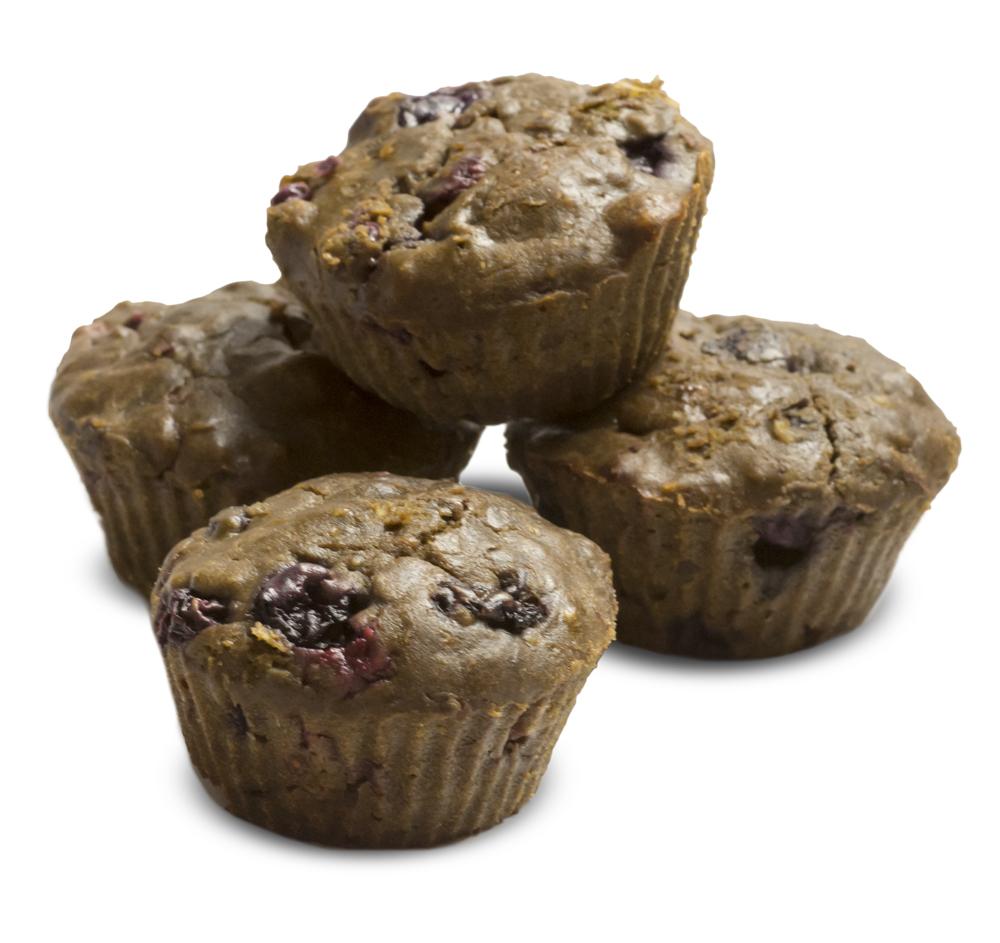 Choc Berry Hemp Cupcakes