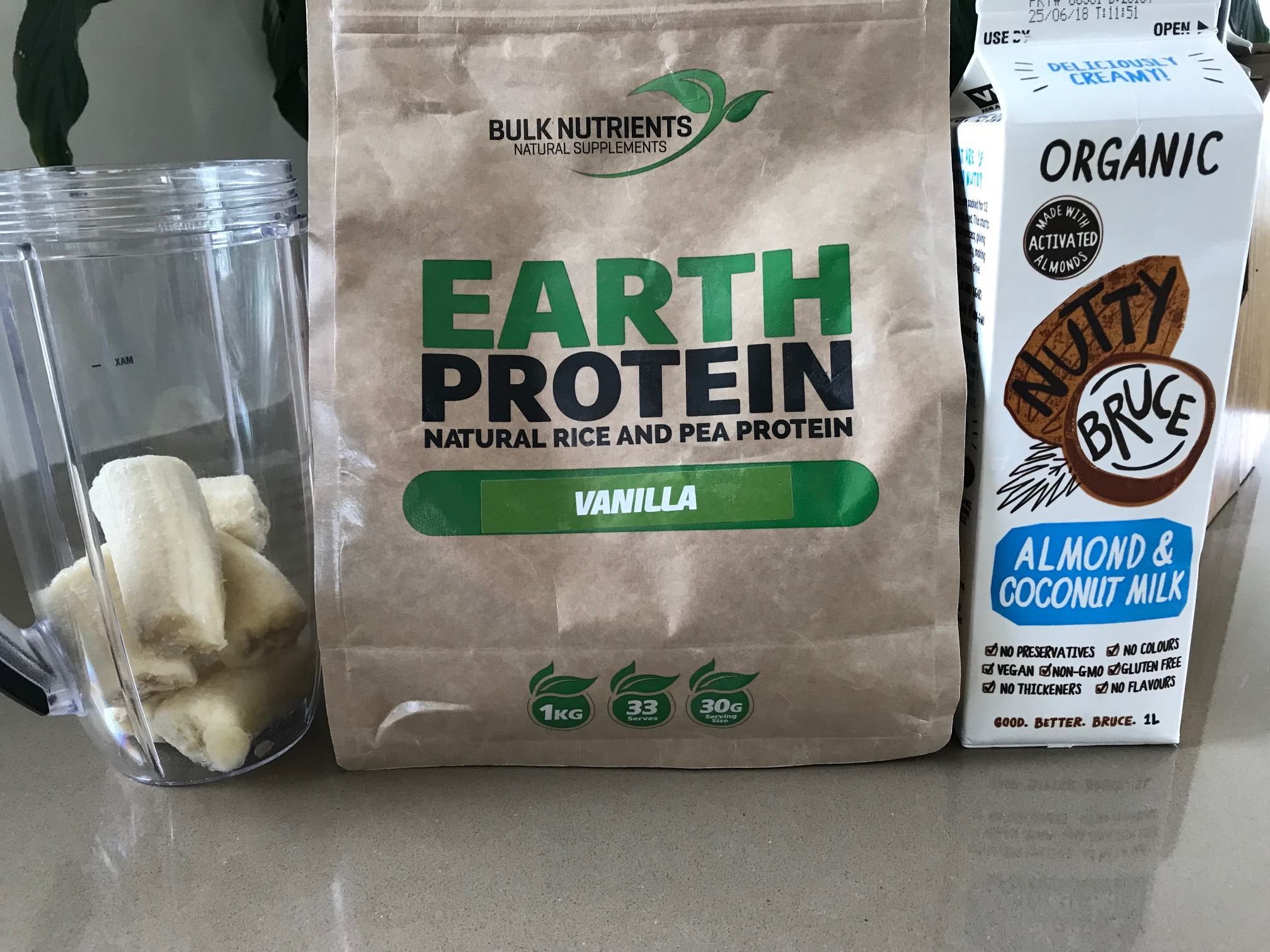Andrew's Vegan Mass Builder Smoothie