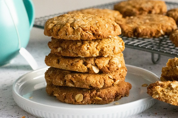 Plant Based Anzac Biscuits
