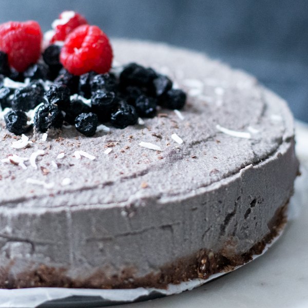 Vegan Acai Berry Cake