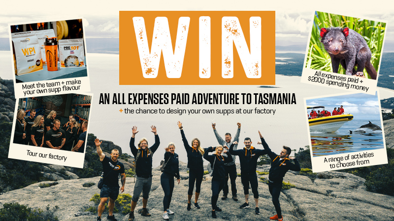Win an all expenses paid adventure to Tasmania!