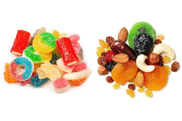 Lollies as healthy as dried fruit? New study reveals candy in disguise