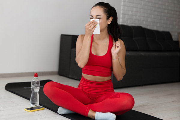 Can you train when you're sick?
