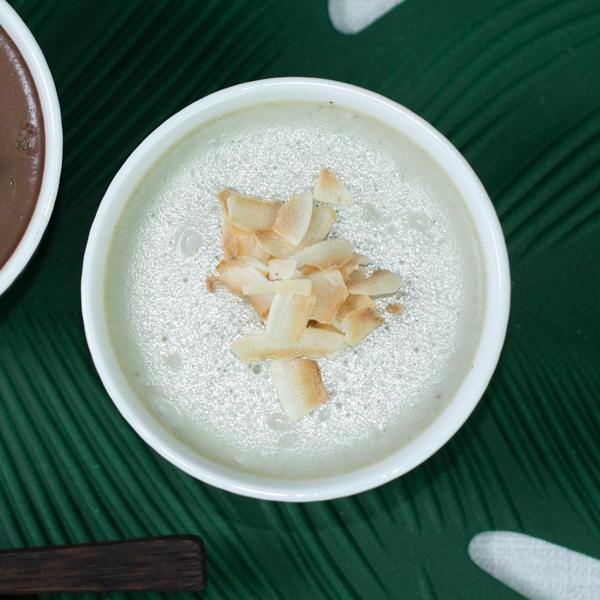 Creamy Matcha Panna Cotta