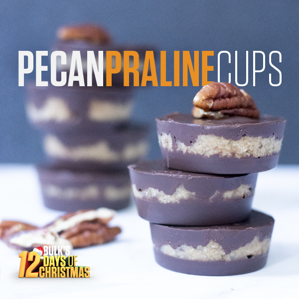 12 Days of Christmas - Pecan Praline Cups