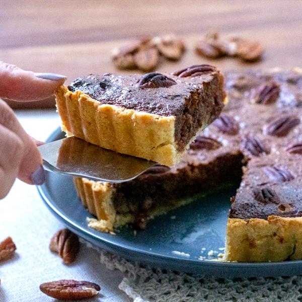 High Protein Pecan Pie