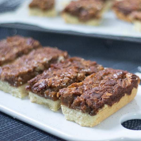 Snack Sized Pecan Protein Bars