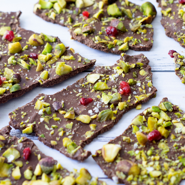 Pistachio And Dark Chocolate Protein Shards