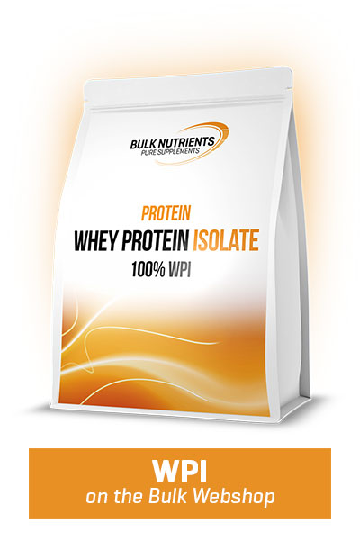 Why should you use Whey Protein Isolate / WPI?