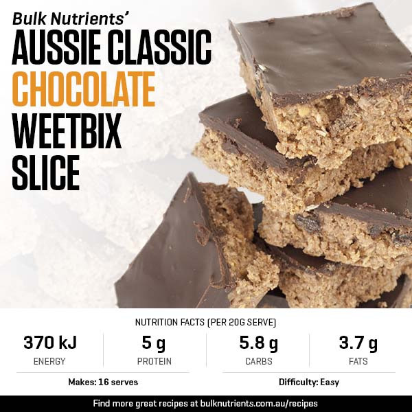 An Aussie Classic - Chocolate Weetbix Slice