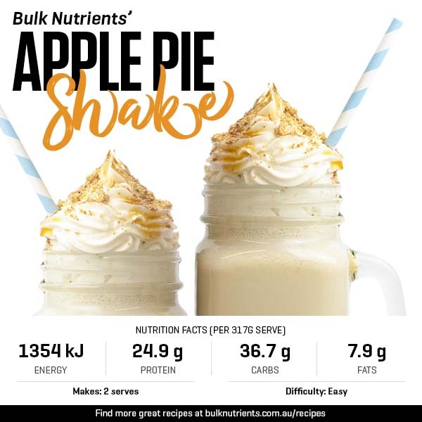 12 Days of Christmas - Apple Pie Shake