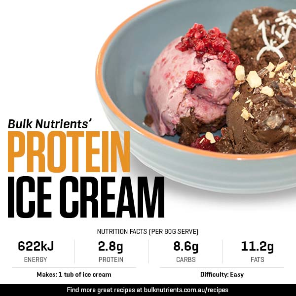 Bulk Nutrients Protein Ice Cream