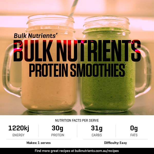 Bulk Nutrients Protein Smoothies