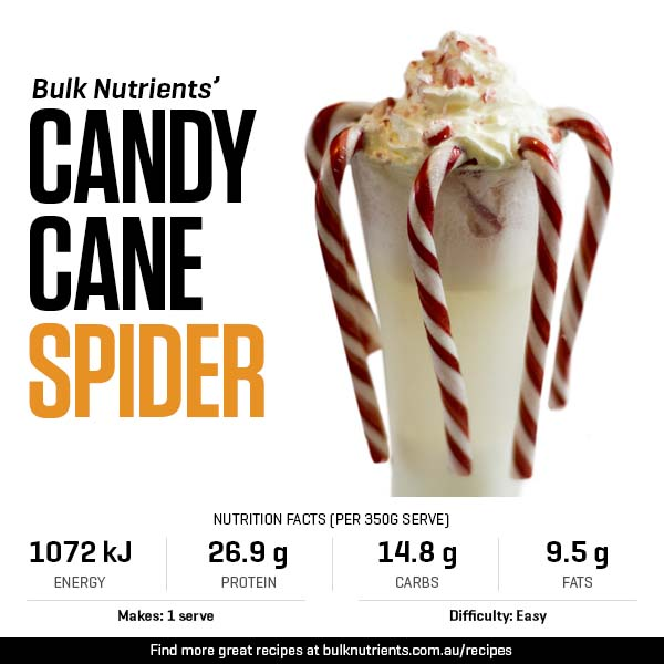 12 Days of Christmas - Candy Cane Spider