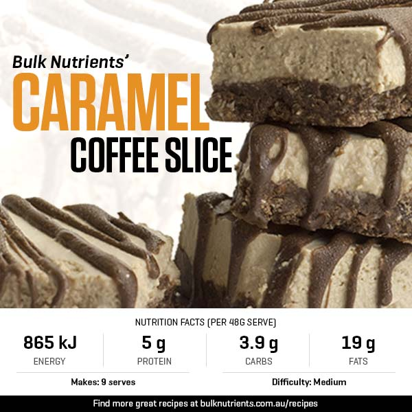Caramel Coffee Slice