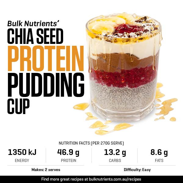 Chia Seed Protein Pudding Cup