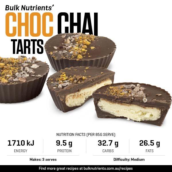 Choc Chai Tarts