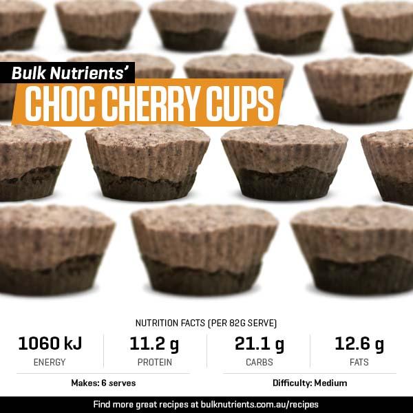 Choc Cherry Cups