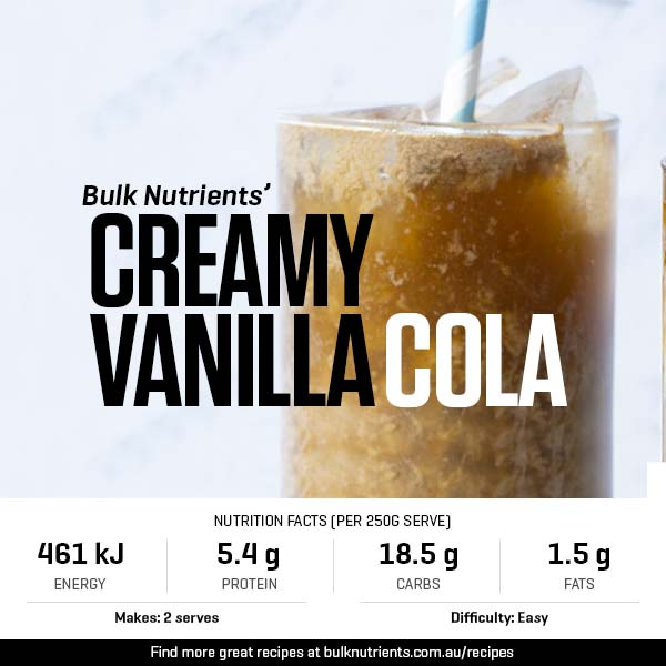 12 Days of Christmas - Creamy Vanilla Cola