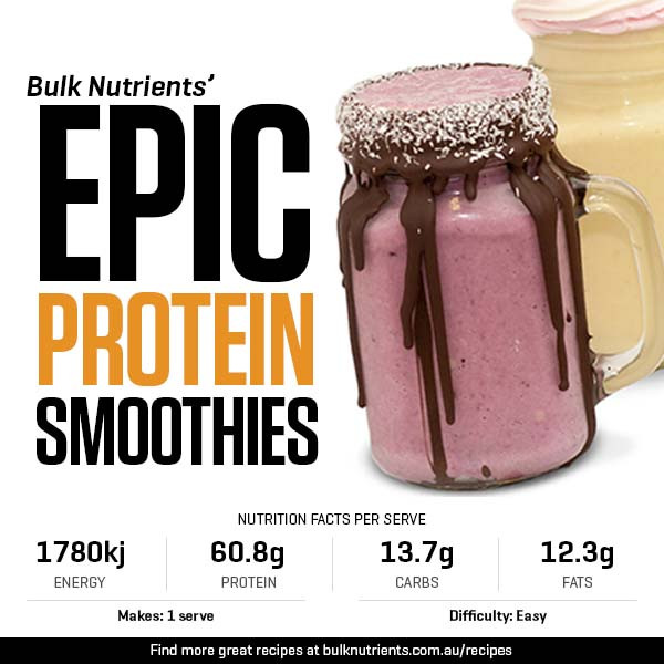 Epic Protein Smoothies
