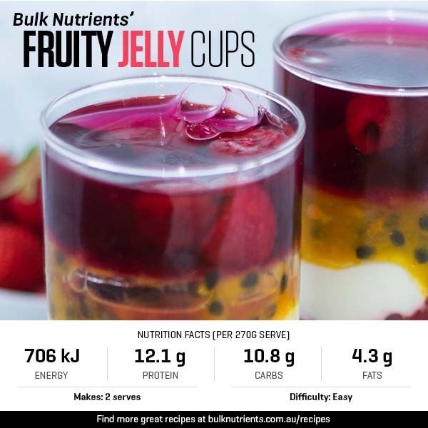 12 Days of Christmas - Fruity Jelly Cups