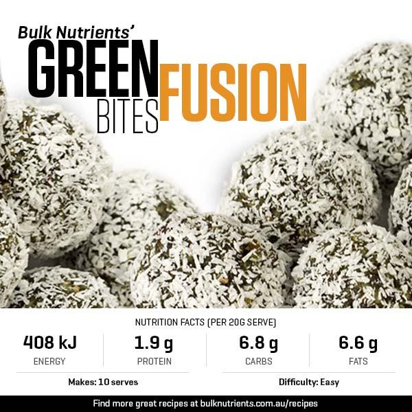Green Fusion Bites