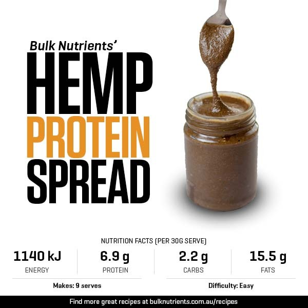 Hemp Protein Spread