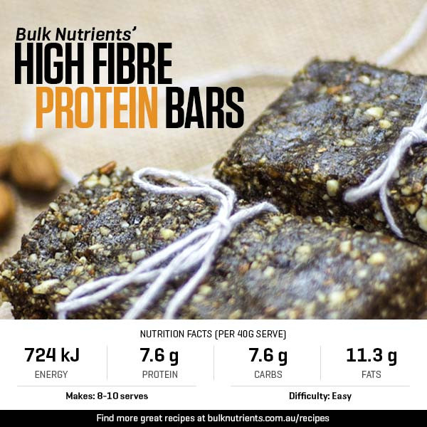 High Fibre Protein Bars